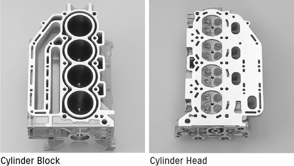 Изображение DOHC 4-клапанный двигатель