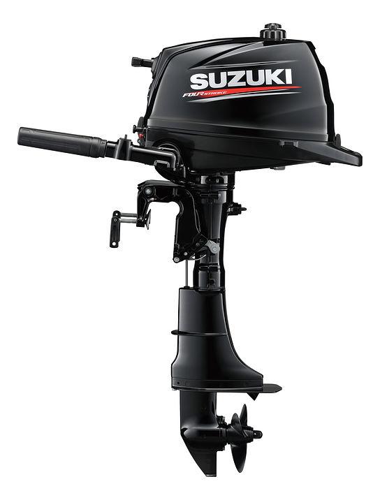 Мотор лодочный SUZUKI DF6AL / Сузуки ДФ 6 л.с. / 508 мм