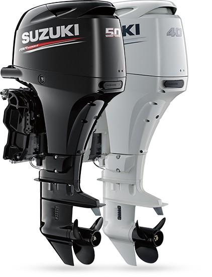 Лодочные моторы Suzuki DF40A / DF50A / DF60A - Сузуки ДФ (40 / 50 / 60 л.с.)