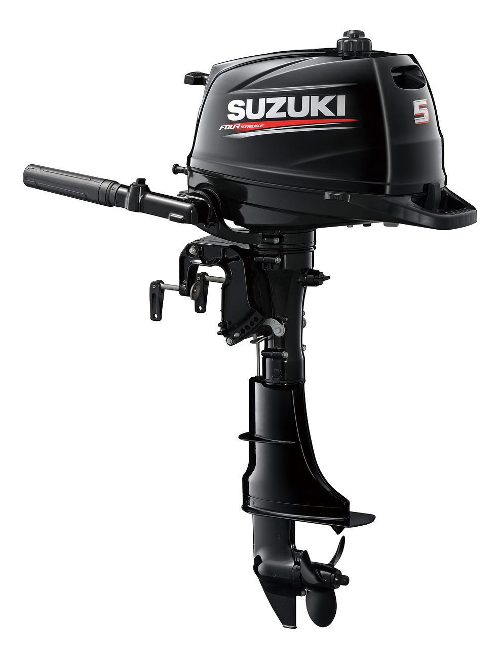 Мотор лодочный SUZUKI DF5AS / Сузуки ДФ 5 л.с.