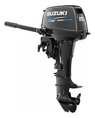 Лодочные моторы Suzuki DT9.9A / DT15A -  Сузуки ДТ (15 / 9.9 л.с.)