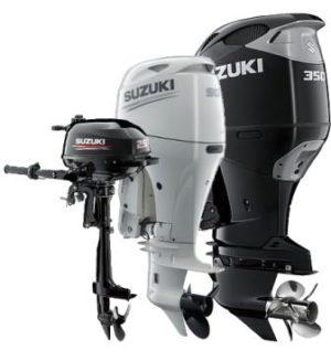 4-х тактные лодочные моторы Сузуки