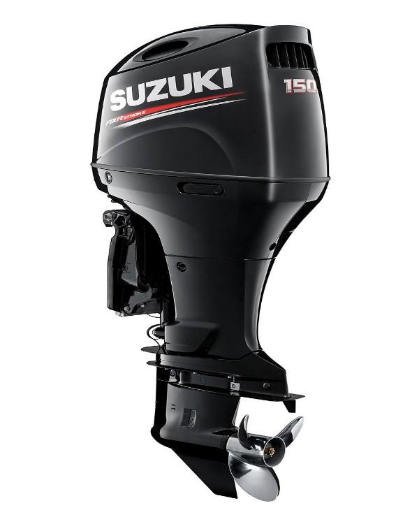 Мотор лодочный Suzuki DF150AZX / Сузуки ДФ 150 л.с. / 635 мм - с редуктором левого вращения.