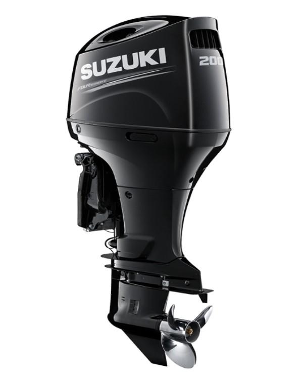 Мотор лодочный Suzuki DF200APL / Сузуки ДФ 200 л.с. / 508 мм – с электронным управлением – мульти вращение.