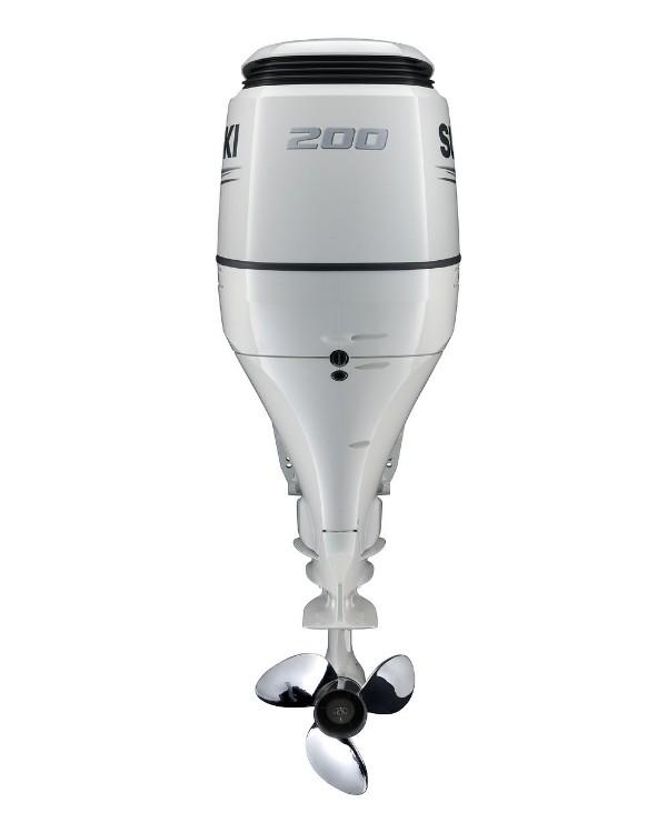 Мотор лодочный Suzuki DF200ZX / Сузуки ДФ 200 л.с. / 635 мм - V6