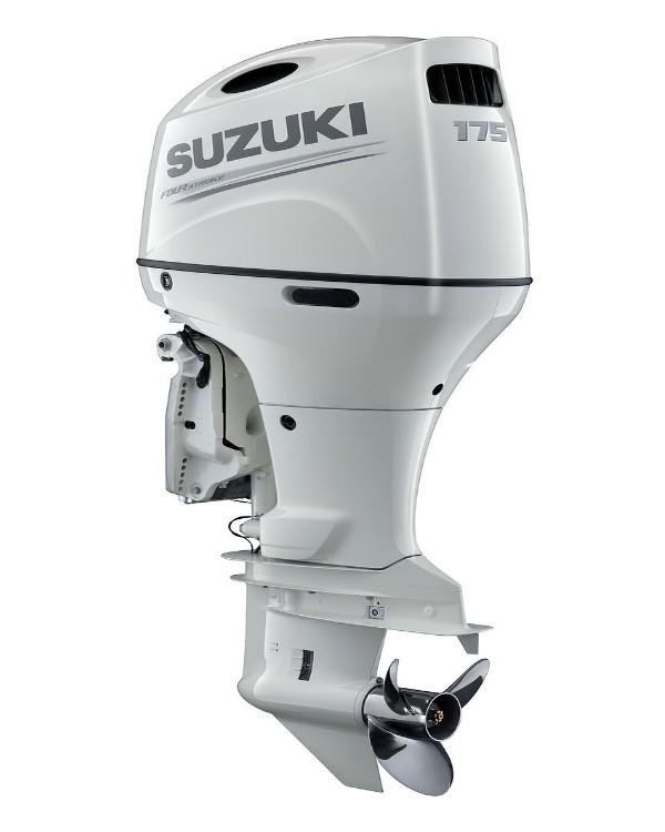 Мотор лодочный Suzuki DF175AZL / Сузуки ДФ 175 л.с. / 508 мм - с редуктором левого вращения.
