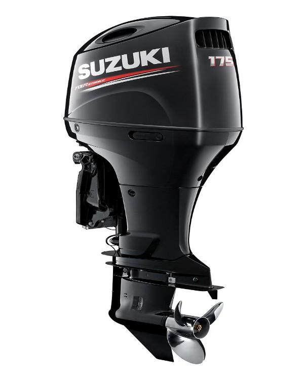 Мотор лодочный Suzuki DF175AZX / Сузуки ДФ 175 л.с. / 635 мм - с редуктором левого вращения.