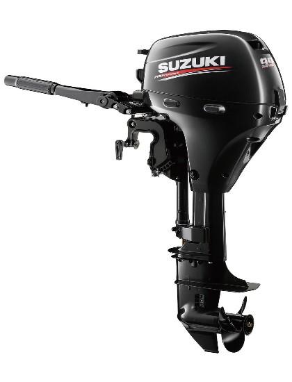 Мотор лодочный Suzuki DF9.9AS / Сузуки ДФ 9.9 л.с. / 381 мм