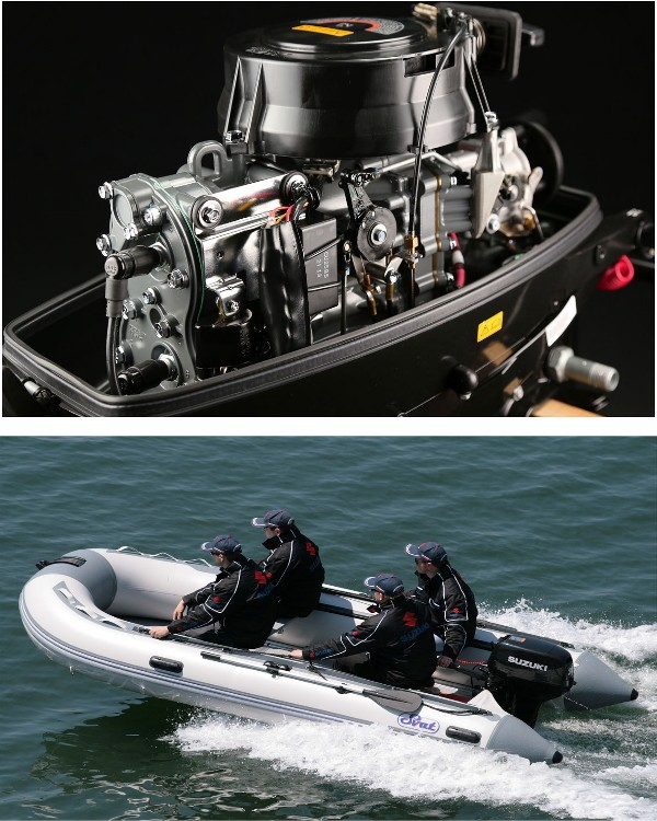 Мотор лодочный Suzuki DT30RS / Сузуки ДT 30 л.с. / 381 мм)