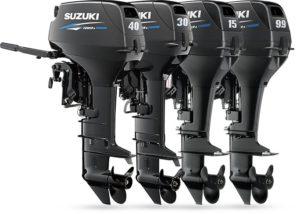 2-х тактные лодочные моторы Сузуки